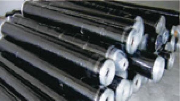 自粘層的高分子 HDPE 防水卷材 2 米寬幅