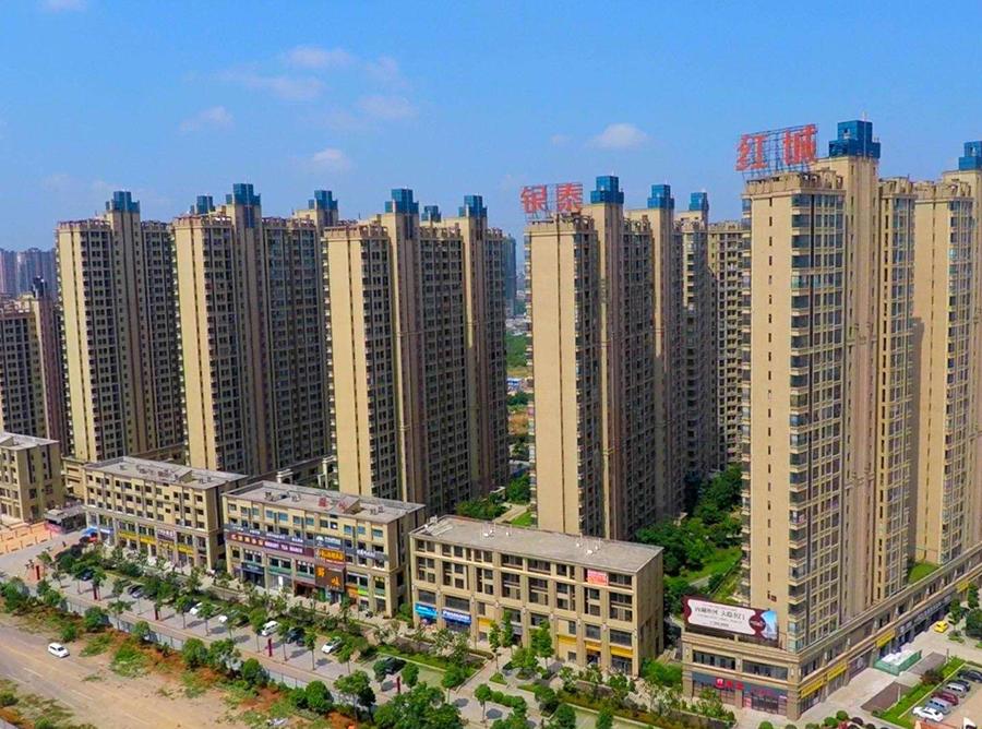 衡陽銀泰紅城人工湖防滲工程